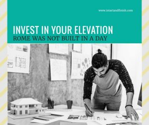 invest in your elevation