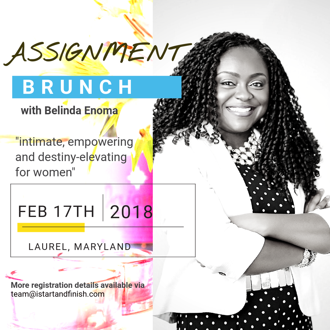 Ladies empowerment and strategy brunch with Belinda Enoma